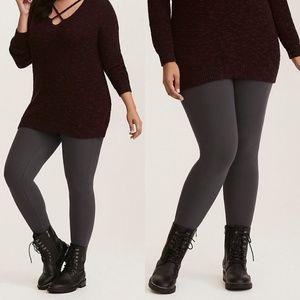 4X Torrid Gray Premium Leggings - NWOT